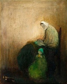 Find artworks by Elvi Maarni (Finnish, 1907 - on MutualArt and find more works from galleries, museums and auction houses worldwide. Close My Eyes, 3 Arts, Mother And Child, Figure Painting, Contemporary Artists, Painting Inspiration, Illustration Art, Illustrations, Eye Candy