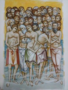 Byzantine Icons, Art Icon, Orthodox Icons, Vignettes, Saints, Contemporary, Crafts, Painting, Byzantine Art