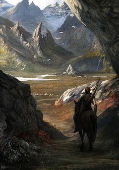 Arte y fantasía, Fantasy Artwork, Fantasy Concept Art, Fantasy Art Landscapes, Fantasy Landscape, Landscape Art, Arte Final Fantasy, High Fantasy, Medieval Fantasy, Sci Fi Fantasy