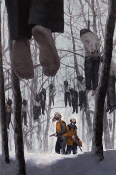 The Illustration of David Palumbo \ The Clearing. Oil on panel, 24x36, 2012. Dark Horse Comics