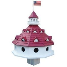 purple martin birdhouse - very nice! For more info - check out this page http://plansforbirdhouses.com/purple-martin-bird-houses/