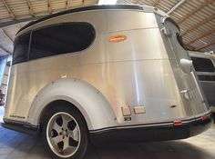 Original US Design Airstream BASECAMP .. rare modern Trailer .. empty Airstream