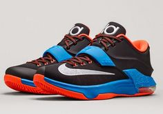 In the marker for sneakers? NBA reigning MVP Kevin Durant just released the latest colorway of his shoes with Nike dubbed, 'On the Road.' Kevin Durant's journey on the road has brought him. Kevin Durant, Kd Shoes, Sock Shoes, Me Too Shoes, Free Shoes, Nike Outlet, Shoes Outlet, Zapatos Kd, Store Nike