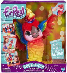 FurReal Friends – Peluche interactive Show-Coco, Mon Perroquet Star – Version française Toddler Christmas Gifts, Toddler Gifts, Friends Show, Real Friends, Little Live Pets, Toys Uk, Bird Toys, Pet Tags, Toys For Girls
