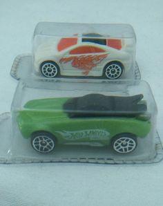 2 Micro Mini Hot Wheels cars 2006 Whip Creamer and Asphalt Assault Blister pack #HotWheels