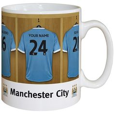 Personalised Manchester City Dressing Room Mug  from Personalised Gifts Shop - ONLY £9.99