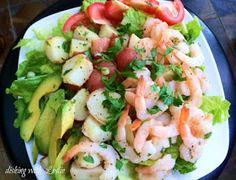 Dishing With Leslie: Lime Shrimp Salad