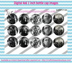 """1"""" Bottle Caps (4X6) F165 sons of anarchy celebrities bottle cap images #celebrities #bottlecap #BCI #shrinkydinkimages #bowcenters #hairbows #bowmaking #ironon #printables #printyourself #digitaltransfer #doityourself #transfer #ribbongraphics #ribbon #shirtprint #tshirt #digitalart #diy #digital #graphicdesign please purchase via link http://craftinheavenboutique.com/index.php?main_page=index&cPath=323_533_42_60"""