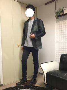 今日のこのジャケットは僕が持ってる洋服の中で1番派手なデザインだと思います🙋♂️ シンプルなもの