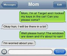This may happen to me some day. Mom be warned