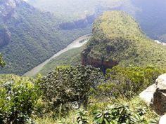 The Blyde River Canyon.. a beautiful stop along the panorama route. #Blyderivercanyon www.outlook.co.za