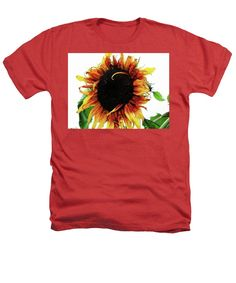Color Heathers T-Shirt featuring the photograph Bed Head by Karen Stahlros #tshirt #shirts #clothing #photography #sunflower