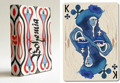Bohemia: a deck of cards by Uusi | Snow and Graham