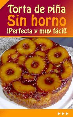 Tiramisú de maracuyá {Postre de maracuyá o parchita} Pan Dulce, Crazy Cakes, Mexican Food Recipes, Sweet Recipes, Dessert Recipes, Pineapple Cake, Pie Cake, Creative Food, Cakes And More