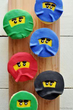 Ninjago Cupcakes - The Chic Site