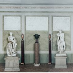 Schloss Tegel Interior, Schinkel