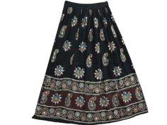 Mogulinterior Skirt Peasant Black Sequin Allover Beaded Skirts Gypsy Long Skirt Mogul Interior,http://www.amazon.com/dp/B00DORPODY/ref=cm_sw_r_pi_dp_IkRbsb05E2N30Y3N