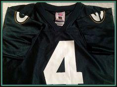 BRETT FAVRE GREEN BAY PACKERS REPLICA NFL PROPERTIES JERSEY  KIDS 5-6 MEDIUM #nfl #GreenBayPackers