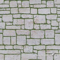 Textures Texture seamless | Travertine park paving texture seamless 18811 | Textures - ARCHITECTURE - PAVING OUTDOOR - Parks Paving | Sketchuptexture