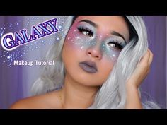 Starry freckles | GALAXY Makeup Tutorial - YouTube