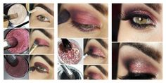 Come truccare gli occhi verdi con il colore marsala Eye Makeup Steps, Makeup Techniques, Eye Make Up, Iris, Eyeliner, Halloween Face Makeup, Hair Beauty, Color Rosa, Lipstick