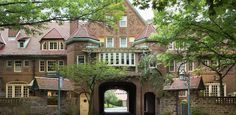 GREENWAY TERRACE, FOREST HILLS  It's a little off the beaten path in Queens, but this quaint neighborhood full of Tudor homes is definitely worth the trek. Walk through the quiet, tree-lined streets of Forest Hills Gardens and you'll forget Times Square even exists.