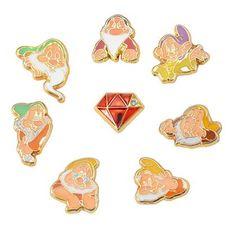 7 Dwarves 8 Piece Earring Set