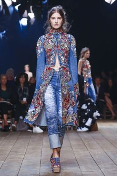 For the past few seasons, designer Sarah Burton has been giving fashion goers a womenswear proposition that favored a harder, more protective approach. Women who are not easily wooed or in need of ...