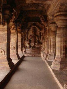 Badami cave temples, India