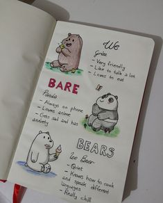 We bare bears 🐻🐼💙 - - Ice Bear We Bare Bears, We Bear, Bullet Journal Art, Bullet Journal Ideas Pages, We Bare Bears Wallpapers, Cute Wallpapers, Panda Mignon, Bear Wallpaper, Iphone Wallpaper