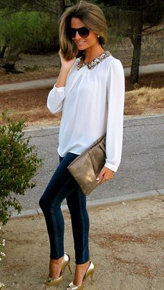 Love the embellished collar!