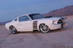 1968 Mustang Fastback - Supercharged 434ci Ford SVO 992hp 6spd