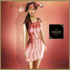TD Nayra Mesh Dress