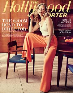Elizabeth Banks on the cover of The Hollywood Reporter.