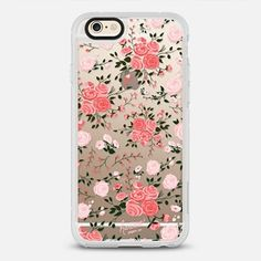 PINK FLORAL ROSES by Harvest Paper Co. 