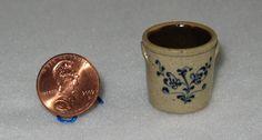 Jane Graber Stoneware Crock Dollhouse Miniature