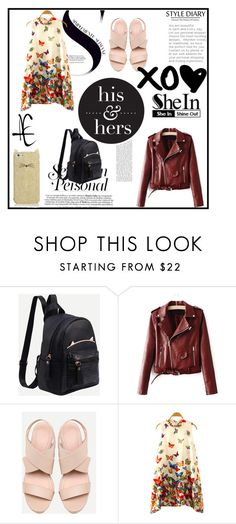 """""""Shein 8/10"""" by zina1002 ❤ liked on Polyvore featuring Kate Spade"""