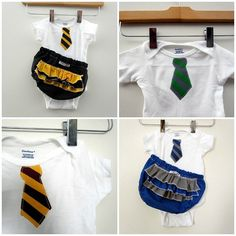 Baby Hogwarts school uniform! my future children will 100% be decked out in this!