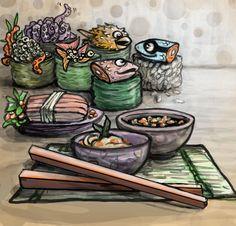 Sushi- The New Guy by vesuvia on DeviantArt