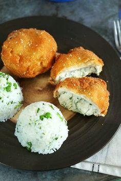 Extra húsmentes ebéd: juhtúróval töltött rántott gomba   Street Kitchen