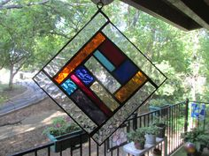 Stained Glass Suncatcher by GKYCreations on Etsy