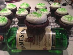 Happy St. Patrick's day! This is how I like my Guinness...with some whiskey on the side..yum!