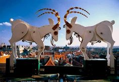Famous goats from Poznań