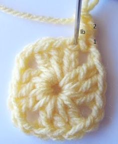 Hekel Idees: Hekel Tutoriaal: Soliede Vierkant Afrikaans, Chalk Paint, Knitted Hats, Crochet Patterns, Slippers, Knitting, Tricot, Crochet Pattern, Breien