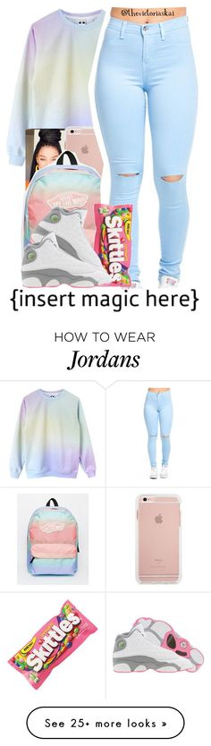"""♡Plus I'll Keep The Na-Na Real Sweet For Ya Eating♡"" by thevictoriaskai on Polyvore featuring Vans and Retrò"
