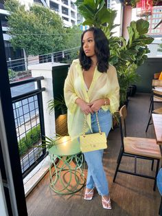 """Bri on Twitter: """"💛… """" Boujee Outfits, Dressy Outfits, Stylish Outfits, Spring Outfits, Fashion Outfits, Ibiza Outfits, Black Girl Fashion, Look Fashion, Mode Ootd"""
