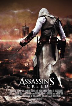 Assassins Creed - THE MOVIE Poster (Selfmade) by mastersebiX.deviantart.com on @deviantART (The background is Firenze but thats Altair...... Still cool looking. :)