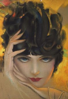 Illustration by rolf armstrong c. 1930 scott armstrong, jason brooks, art d Vintage Pictures, Vintage Images, Rolf Armstrong, Art Nouveau, Art Deco Posters, Architecture Tattoo, Pin Up Art, Lost Art, Animal Quotes