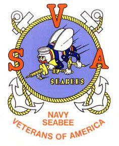 Navy Seabee Veterans of America Inc. Navy Veteran, Military Veterans, Us Navy Seabees, Mens Baseball Tee, Go Navy, Bee Tattoo, Veterans Affairs, War Photography, Navy Ships