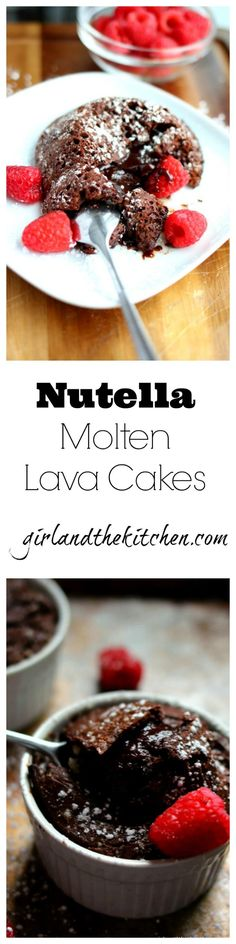 A sinfully delicious chocolate and Nutella dessert that is out of the oven in under 20 minutes.